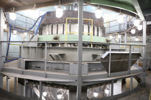 Hydraulic tests of the MBIR reactor vessel were completed successfully